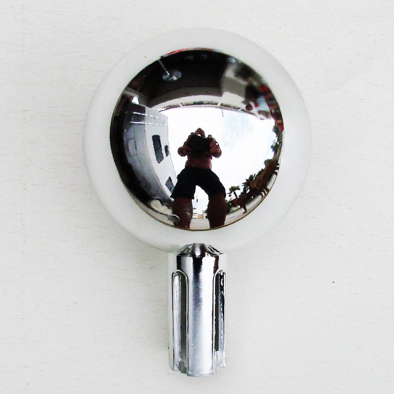 Chrome Ball Flagpole Topper
