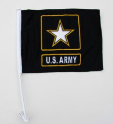 Army Star Car Flag, Car Flags, Army Star Flag