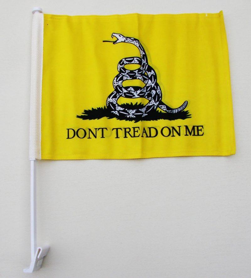 Gadsden Car Flag, Gadsden Car Flag - Don't Tread on Me Car Flag - Don't Tread on Me Flag, Gadsden Car Flag - Don't Tread on Me Car Flag - Don't Tread on Me Car Flag, Car Flags