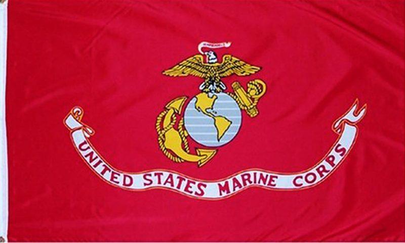 Marine Flag, Military Flags, Jarhead Flag, USMC Flag, Marine Corps Flag