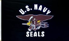 Navy Seals Flag, Military Flags, Navy Flags, US Navy Seals Flag