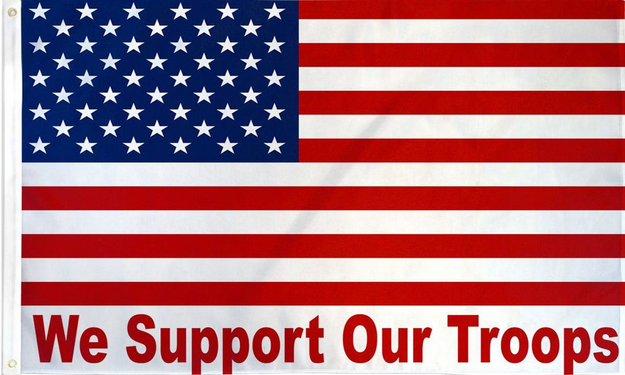 Image result for we support our troops
