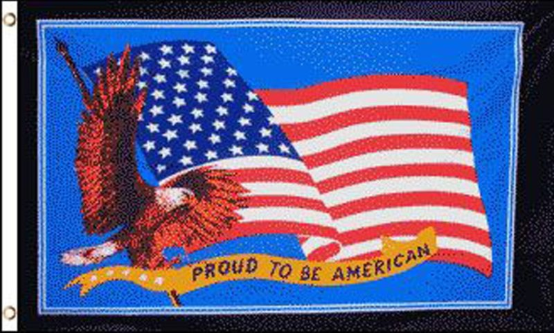 Proud To Be American Flag, American Flags, Novelty Flags, Flags, USA Flags, USA