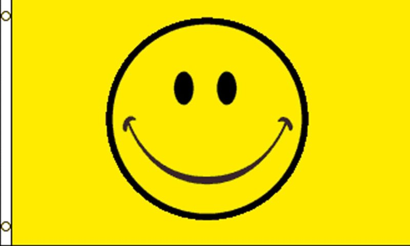 Smiley Face Flag, Novelty Flags, Happy Face Flags, Flags, Smiley Flag, Happy Face, Smiley Face