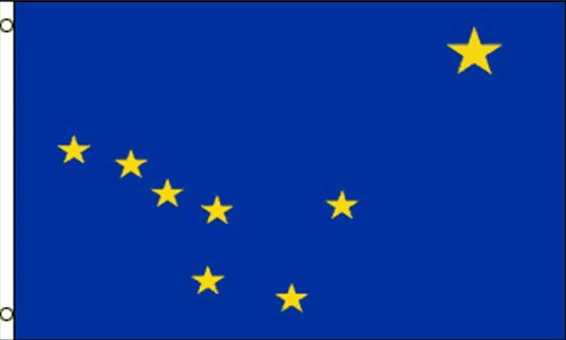 Alaska State Flag, State Flags, Alaska Flag, Alaska State