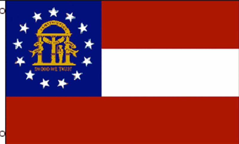 Georgia State Flag, State Flags, Georgia Flag, Georgia State