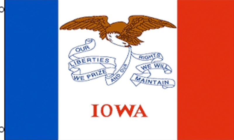 Iowa State Flag, State Flags, Iowa Flag, Iowa State