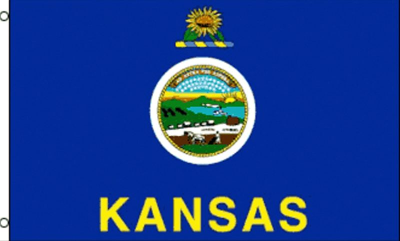 Kansas State Flag, State Flags, Kansas Flag, Kansas State