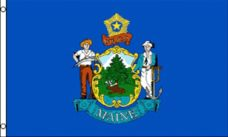Maine State Flag, State Flags, Maine Flag, Maine State