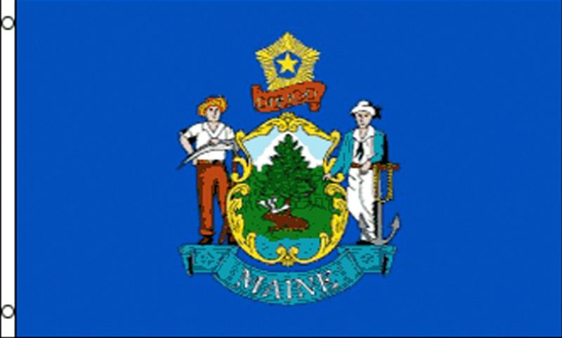 Maine State Flag, State Flags, Maine Flag, Maine State