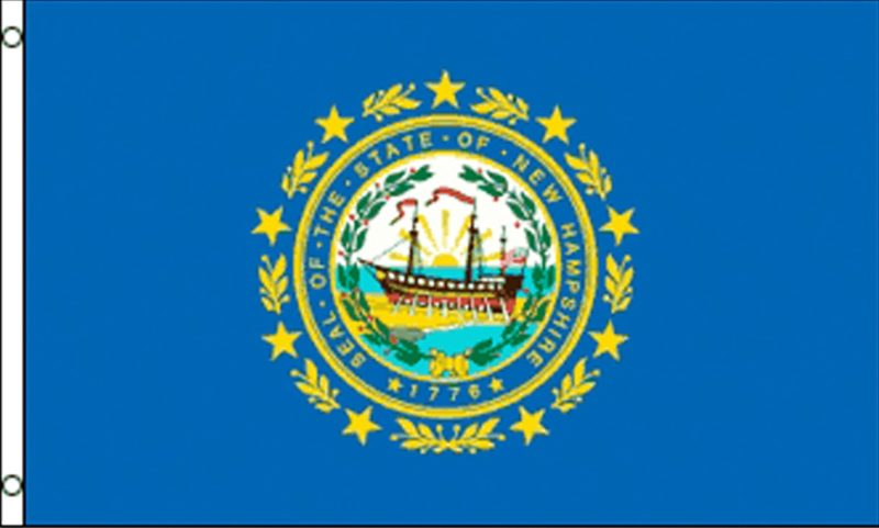 New Hampshire State Flag, State Flags, New Hampshire Flag, New Hampshire State