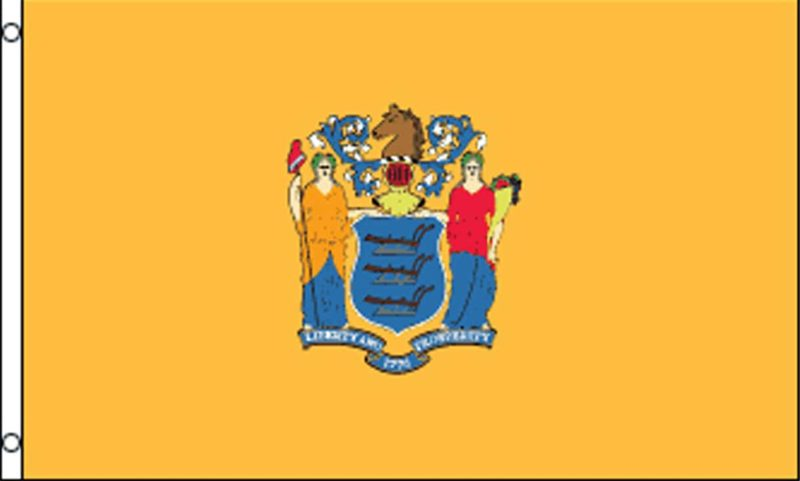 New Jersey State Flag, State Flags, New Jersey Flag, New Jersey State