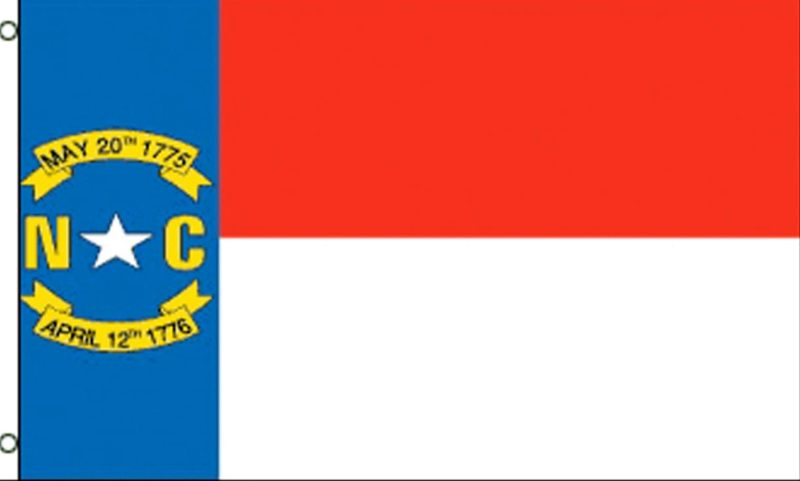 North Carolina State Flag, State Flags, North Carolina Flag, North Carolina State