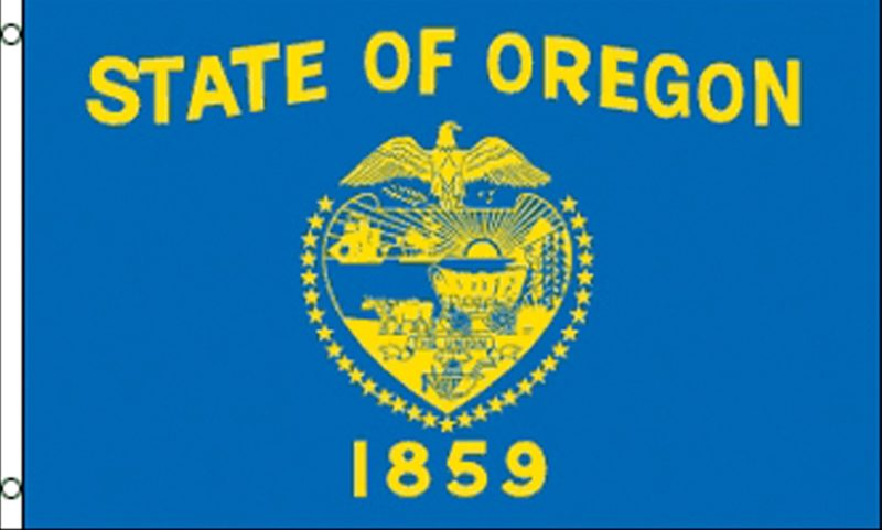 Oregon State Flag, State Flags, Oregon Flag, Oregon State