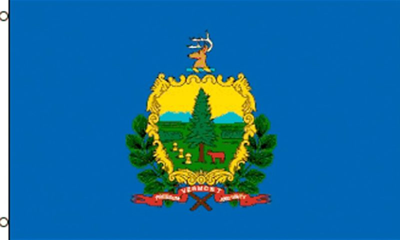 Vermont State Flag - State Flags - Vermont Flag, Vermont State