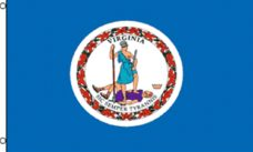 Virginia State Flag, State Flags, Virginia State , Virginia Flag