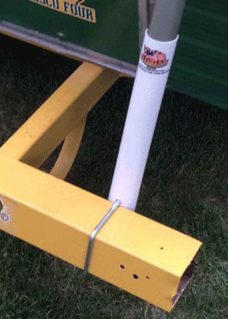 Bumper Flagpole Mount, Flagpole, RV