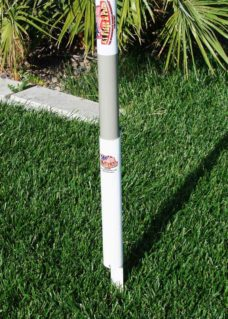 Ground Flagpole Mount, Flagpole backyard