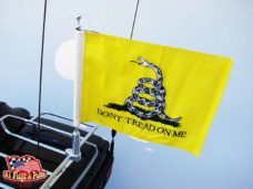 Motorcycle Flagpole with Gadsden Flag, Don't Tread On Me, Motorcycle Flagpole with USA Flag, Motorcycle Flagpoles and Flags, Motorcycle Flags, Harleys, Motorcycles