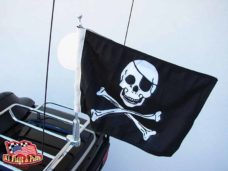 Motorcycle Flagpole with Pirate Flag, Motorcycle Flagpoles with USA Flag, Motorcycle Flagpole and Flags, Motorcycle Flags, Harleys, Motorcycles