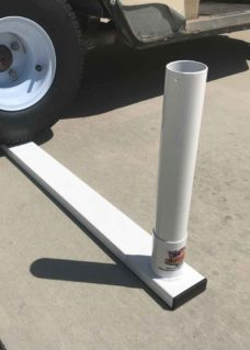 flagpole tire mount, tire mount, flagpole mount, tire flagpole mount, rv flagpole tire mount