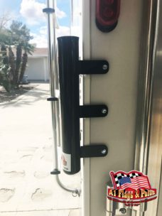 Ramp Flagpole Mount Black, Ramp Mount Black, Flagpole Mount, Flagpole Ramp Mount, Flagpole, Flags, RV Flagpole Ramp Mount
